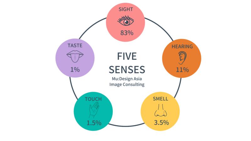イメージコンサルティング五感の情報機能
