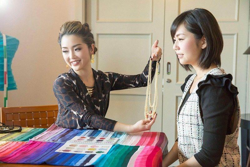 イメージコンサルティングファッションスタイリング提案