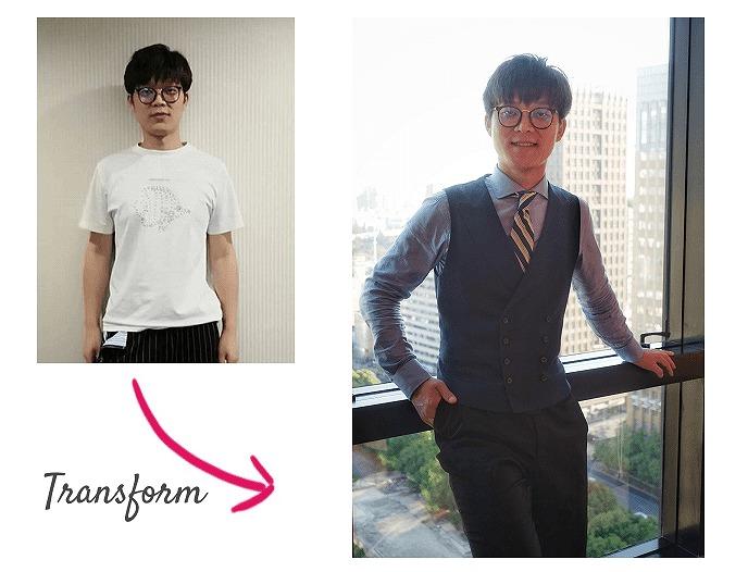 イメージコンサルタントDani Yu Before-After