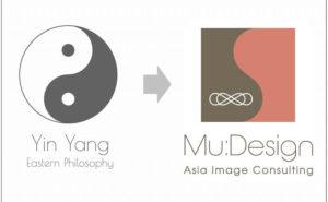 ロゴに込められた東洋思想
