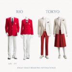 オリンピック日本公式服装に見る配色の印象戦略
