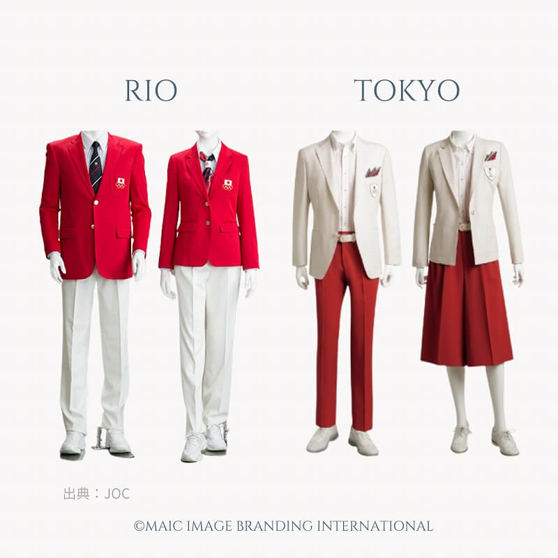 オリンピック公式服装