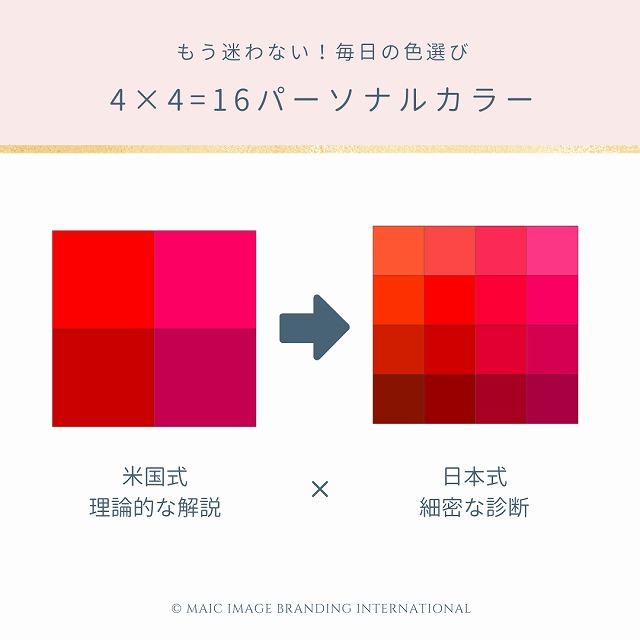 4×4パーソナルカラー
