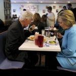 クリントン夫妻の食事マナー