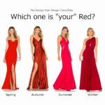 あなたに似合う「赤」はどの赤?