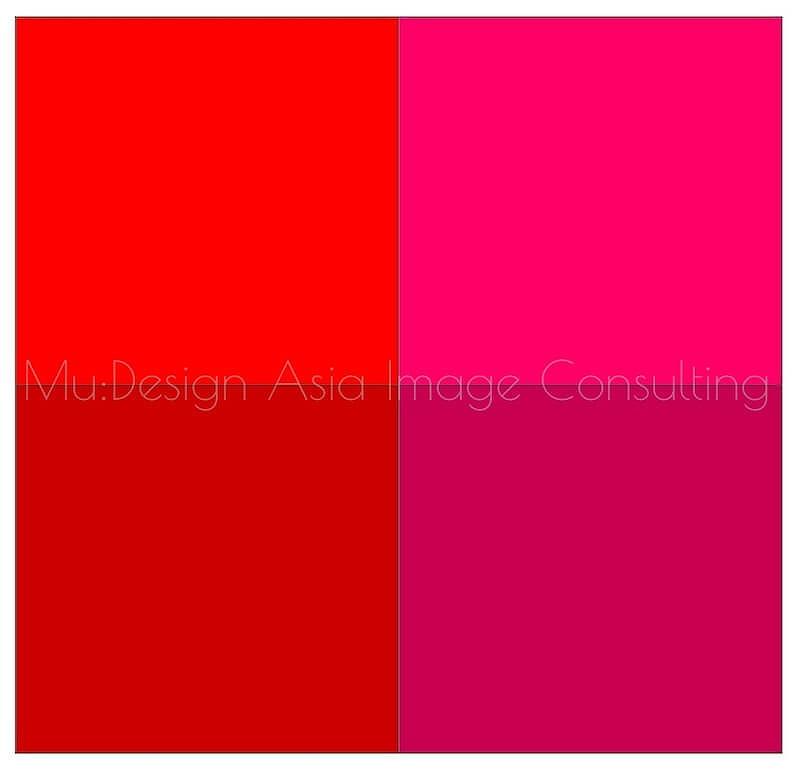 パーソナルカラー4分類赤