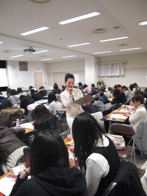 印象学を使って、なりたい自分になろう!国際イメージコンサルタント協会認定イメージコンサルタントAkiko TAKATA-授業風景