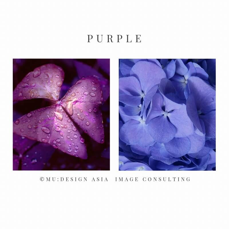 イエローベースとブルーベース(紫)